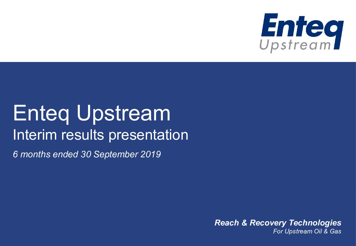 Interim Results 2019 Investors Presentation